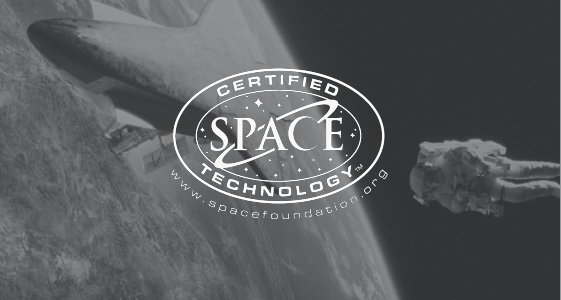 NASA Certified Space Technology.
